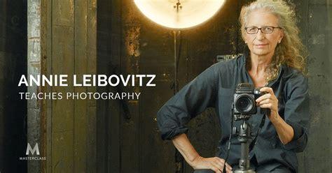 Annie Leibovitz Is Teaching Her Firstever Online