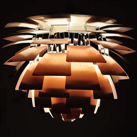poul henningsen artichoke poul henningsen style artichoke l copper 48cm replica