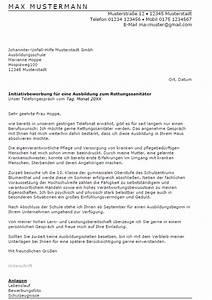 Bewerbung Zur Ausbildung : bewerbung rettungssanit ter ausbildung sofort download ~ Eleganceandgraceweddings.com Haus und Dekorationen