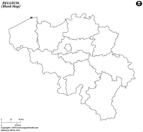 blank map  belgium belgium outline map