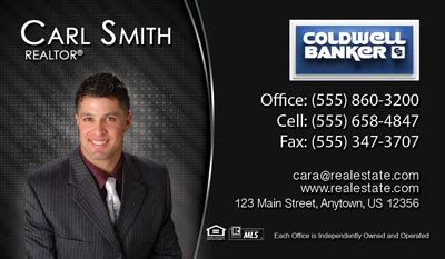 Coldwell Banker Business Card Template