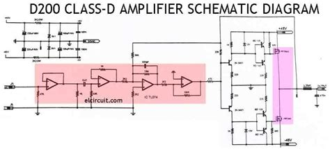 Class Power Amplifier Schematic Diy Pinterest