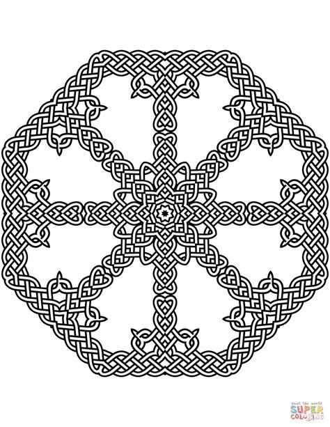 Celtic Knots Coloring Pages 2005219