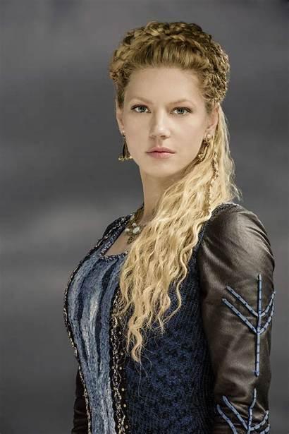 Vikings Winnick Katheryn Lagertha Viking Coiffure Cheveux