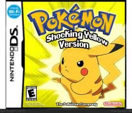 Pokemon Yellow DS Game