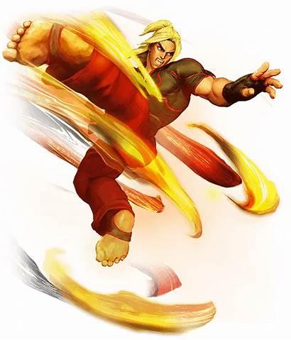 Fighter Ken Street Masters Sfv Character Transparent