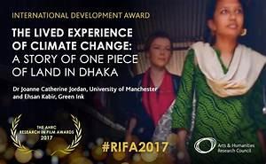 Eye-opening climate change documentary wins prestigious award