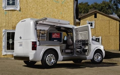 concept work truck nissan nv2500 concept debuts at the 2009 work truck show
