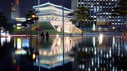 Seoul Desktop Wallpapers Backgrounds Awesome Skyline Allhdwallpapers