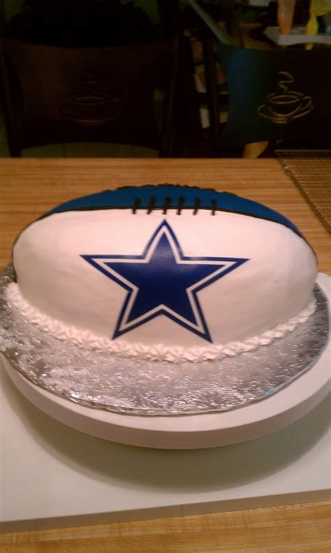 dallas cowboys football cake cakecentralcom