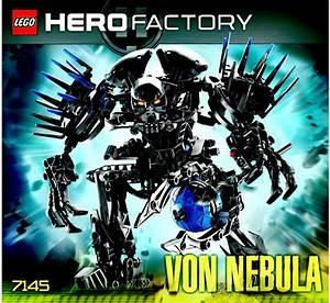LEGO Von Nebula Instructions 7145, Hero Factory