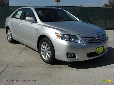 2011 Toyota Camry V6 by 2011 Toyota Camry Xle V6 In Classic Silver Metallic