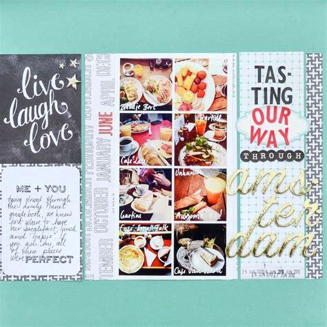 scrapbooking cuisine 97 best food recipe scrapbook layouts images on