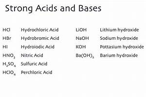17 Best Images About Chemistry  Acids And Bases On
