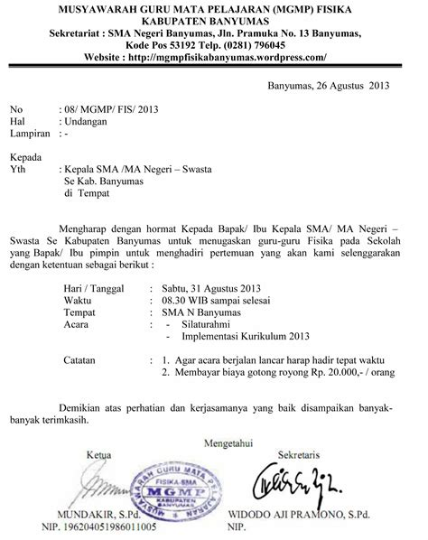contoh surat berita acara musyawarah pembentukan karang