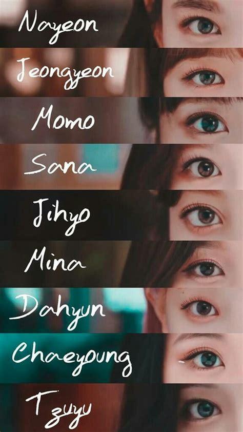 eyes scene mv jeongyeon mina momo