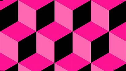 Pink 3d Cubes Ff1493 319px