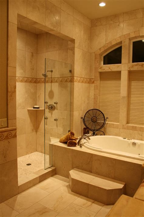 Houzz Bathroom Tiles by Furman Residence