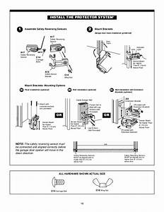 Liftmaster Protector System Wiring Diagram