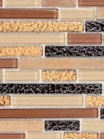 copper tiles for kitchen backsplash brown copper glass sandstone mix backsplash tile