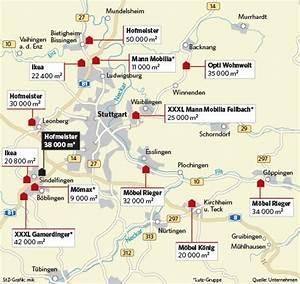 Möbelhäuser In Stuttgart : region stuttgart konkurrenzkampf der m belriesen wird sch rfer landkreis b blingen ~ Yasmunasinghe.com Haus und Dekorationen