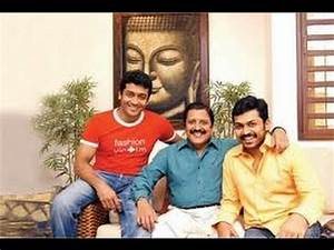 ACTOR SURYA AND KARTHI FAMILY PHOTOS - YouTube