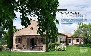 Un Mas En Provence : un mas ouvert la modernit dans le lub ron art ~ Farleysfitness.com Idées de Décoration