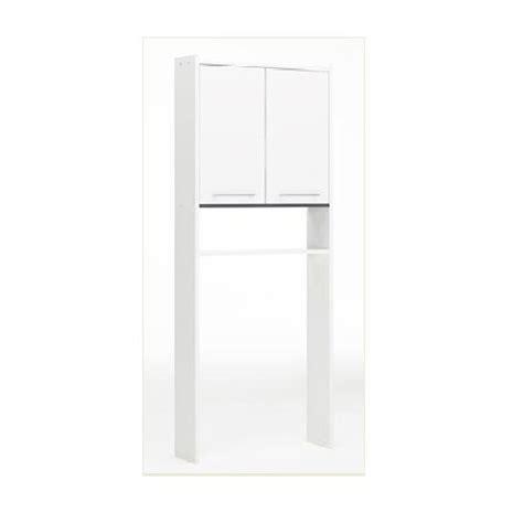 meuble pour wc 224 poser l 60 0 x h 182 0 x p 16 cm blanc
