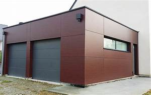 Garage Ossature Bois : construction garage ossature bois rennes charpentier ~ Melissatoandfro.com Idées de Décoration