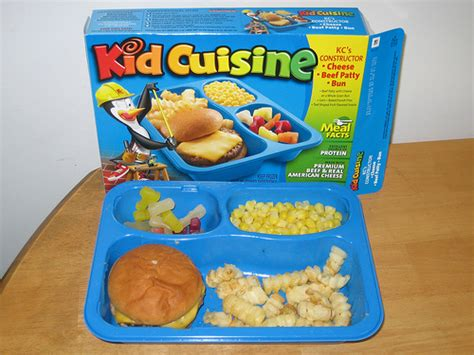 Kid Cuisine Kc's Constructor Cheeseburger  Click Here To