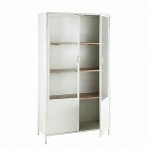 vetrina bianca in metallo l 100 cm eli pinterest With vetrina soggiorno bianca
