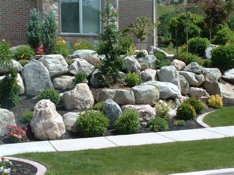 landscaping with boulders photos boulders for large landscape rocks homesfeed