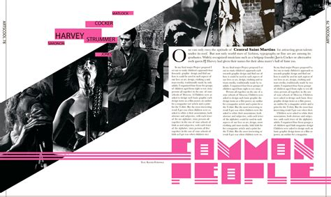 new design magazine magazine layouts on behance