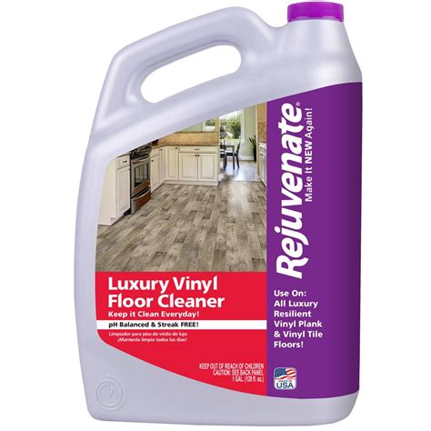 floor tile cleaning products rejuvenate 128 oz luxury vinyl floor cleaner rj128lvfc the home depot