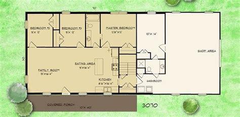 barndominium floor plans  story  bedroom  shop barndominium floor plans cost open conc