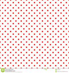 Red and White Polka Dot Pattern