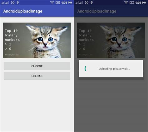 android mediastore android upload image to server using volley the