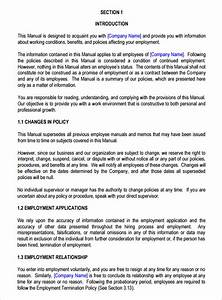 sample welcome letter for employee handbook alternatives With new employee handbook template