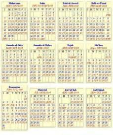 islamic gregorian calendar pakistan