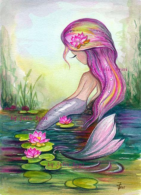 mermaid digital sts sea sts siren mermaid etsy