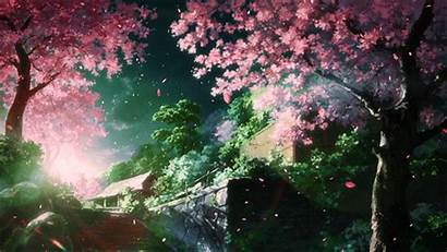Anime Scenery Beatiful Hello Found Want Which