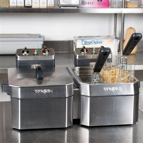 Countertop Fryers by Waring Wdf1500bd 15 Lb Commercial Countertop