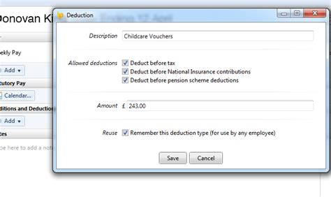childcare vouchers brightpay documentation 833 | 399