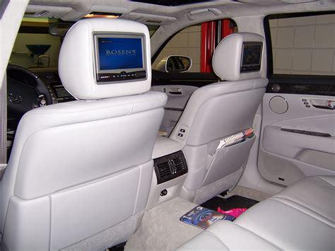 lexus rear seat dvd headrest rosen av entertainment
