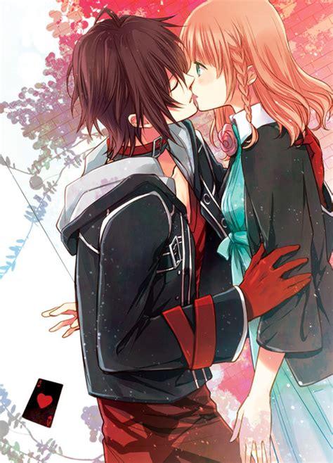 amnesia anime shin and heroine kiss pics for gt amnesia anime shin and heroine