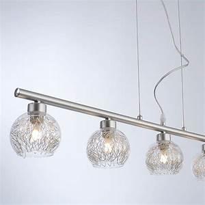Lampe Mit Mehreren Lampenschirmen : led glas h nge lampe mit alugeflecht lampenschirmen ~ Markanthonyermac.com Haus und Dekorationen