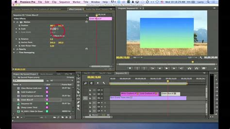 Video Editing: How to Use Gradient Filter in Premiere ...