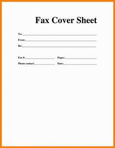 3 cover sheet for fax