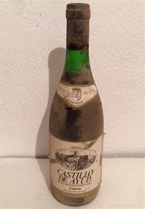vino castillo de ayud gran reserva 1975 - colec - Comprar ...
