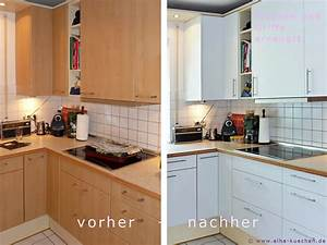 Küche Mit Folie Bekleben : wir renovieren ihre k che dekor der fronten l st sich ~ Michelbontemps.com Haus und Dekorationen